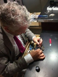 Kenny fixing jewelry